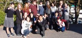 ニュージーランド・グリーンベイハイスクールの生徒来校